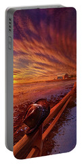 Portable Battery Charger featuring the photograph Only This Moment In Between Before And After by Phil Koch