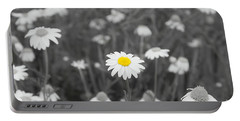 Portable Battery Charger featuring the photograph Oopsy Daisy by Benanne Stiens