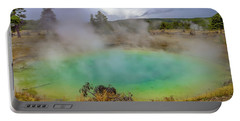 Opal Spring Yellowstone National Park Portable Battery Charger