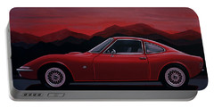 Opel Gt 1969 Painting Portable Battery Charger
