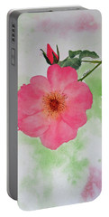 Open Rose Portable Battery Charger