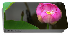 Opening Lotus Lily Portable Battery Charger