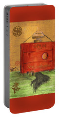 Portable Battery Charger featuring the painting Opium by P J Lewis
