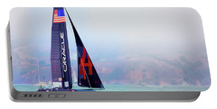 Oracles Usa  America's Cup Paint  Portable Battery Charger