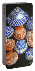 Orange And Blue Sharpie Shells Portable Battery Charger