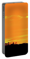 Portable Battery Charger featuring the photograph Orange And Yellow Sky  by Lyle Crump