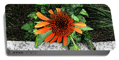 Portable Battery Charger featuring the photograph Orange At Highline Nyc by Joan  Minchak