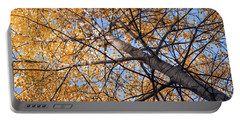 Orange Autumn Tree. Portable Battery Charger