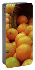 Orange Basket Portable Battery Charger