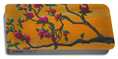 Orange Branch Portable Battery Charger