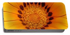 Orange Burst - Daisy Portable Battery Charger