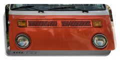 Orange Bus Portable Battery Charger