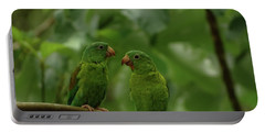 Orange-chinned Parakeets-  Portable Battery Charger