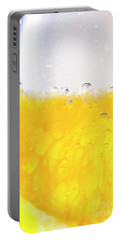 Orange Cocktail Glass Portable Battery Charger
