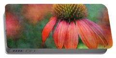Orange Coneflower 2576 Idp_2 Portable Battery Charger