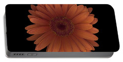Orange Daisy Front Portable Battery Charger