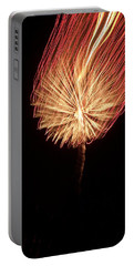 Orange Firework Portable Battery Charger