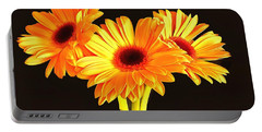 Orange Gerbera's Portable Battery Charger
