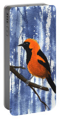 Orange-headed Oriole Portable Battery Charger