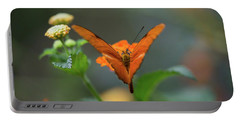 Orange Is The New Butterfly Portable Battery Charger
