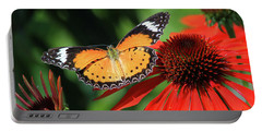 Orange Lacewing Portable Battery Charger
