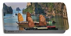 Orange Sails Asian Cruise Vietnam  Portable Battery Charger