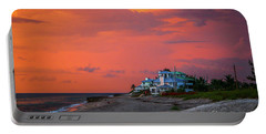 Orange Sky Beach House Portable Battery Charger