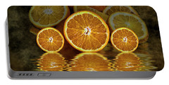 Orange Slices Portable Battery Charger