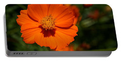 Orange Sulfur Cosmos Flower Portable Battery Charger