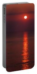 Orange Sunrise Portable Battery Charger