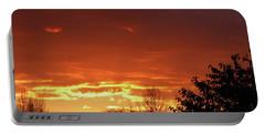 Orange Sunset 1 Portable Battery Charger
