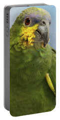 Orange Wing Amazon Parrot Portable Battery Charger