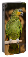 Orange-winged Amazon Parrot Portable Battery Charger