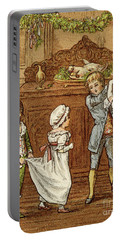 Oranges And Lemons, Victorian Card Portable Battery Charger