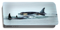 Orca Family Photo Portable Battery Charger