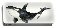 Orca From Arctic And Antarctic Chart Portable Battery Charger