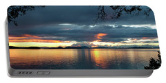 Orcas Island Sunset Portable Battery Charger