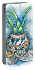 Orchid And Barnacle Portable Battery Charger