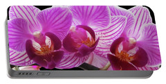 Orchid Beauties Portable Battery Charger