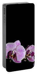 Orchid Blooms Portable Battery Charger