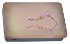 Orchid Blooms And Buds Portable Battery Charger by Tom Mc Nemar