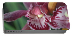 Orchid Charm Portable Battery Charger
