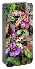 Orchid Garden I Portable Battery Charger