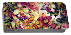 Orchid Garden II Portable Battery Charger
