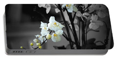 Orchid Selective Color Portable Battery Charger