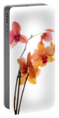 Orchids Portable Battery Charger by Mark Alder