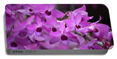 Orchids Paint Portable Battery Charger