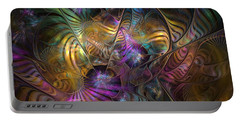 Portable Battery Charger featuring the digital art Ordinary Instances by NirvanaBlues