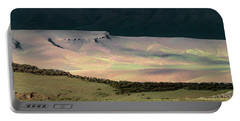 Portable Battery Charger featuring the photograph Oregon Canyon Mountain Layers by Leland D Howard