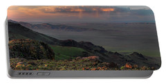 Portable Battery Charger featuring the photograph Oregon Canyon Mountain Views by Leland D Howard
